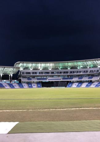 Brian Lara Stadium under lights