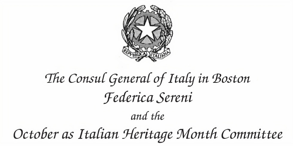 Italian Heritage Month Kickoff