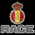 logo del race. centro colaborador de psicotecnicos Majadahonda para renovar el carner de conducir