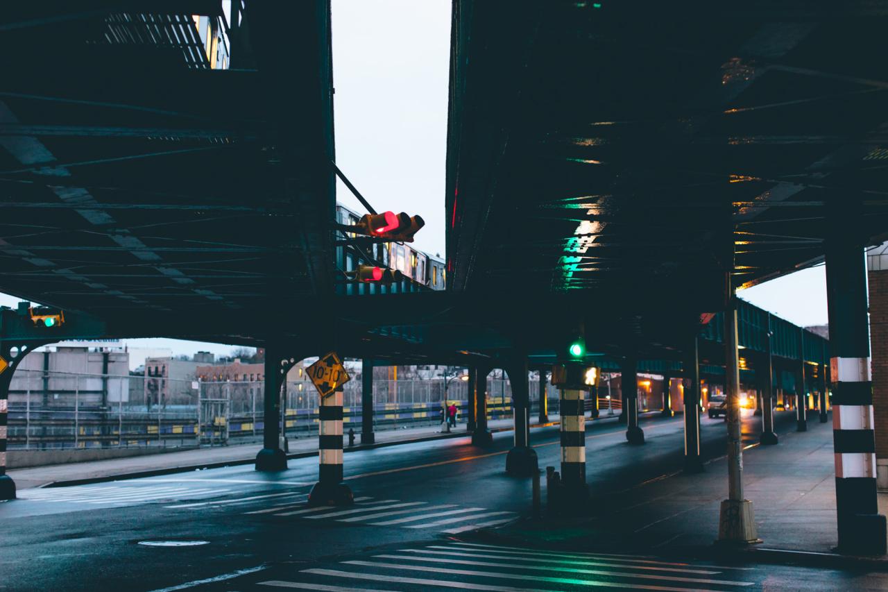 Bronx Elevated Train