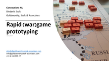 Sharing insights into (Rapid) Wargame Prototyping
