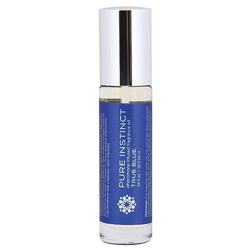 Pure Instinct Pheromone Oil True Blue Roll-On