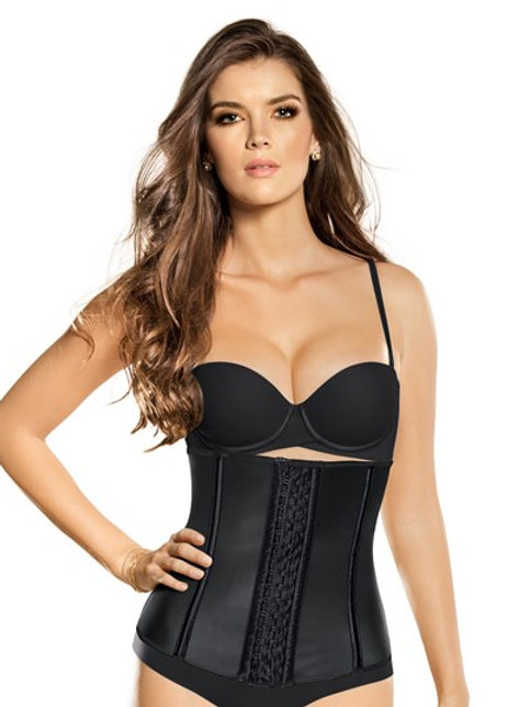 LEONISA LATEX WAIST TRAINER VEST