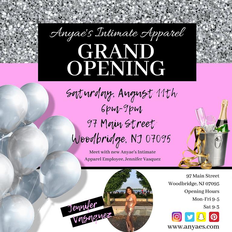 Grand Opening of Anyae's Intimate Apparel Woodbridge,NJ