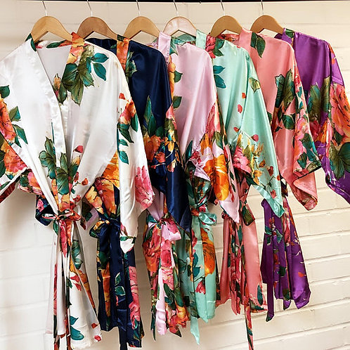 Floral Kimono Midi