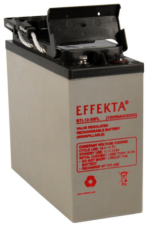 Blei-Akku Effekta BT12-55F