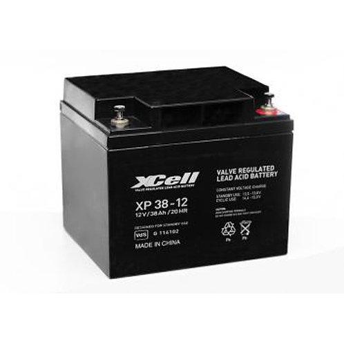 Blei-Akku XCell, Vision, Multipower 12V 38Ah M5