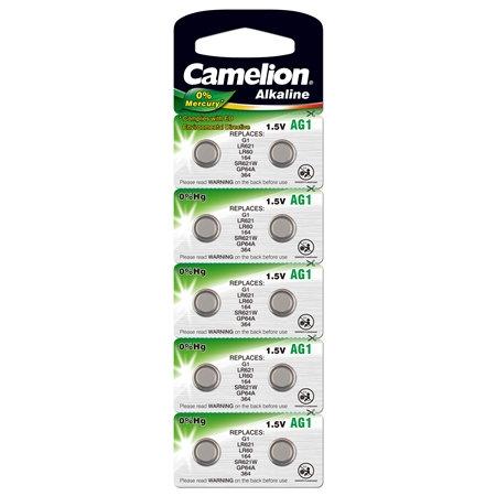 Knopfzelle Alkaline Camelion AG1 1,5V