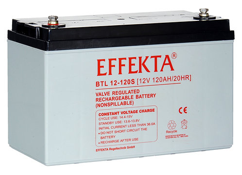 Blei-Akku Effekta BTL12-120S