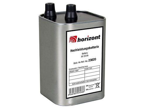 Horizont Blockbatterie 4LR25 6V 20Ah 60 Stück
