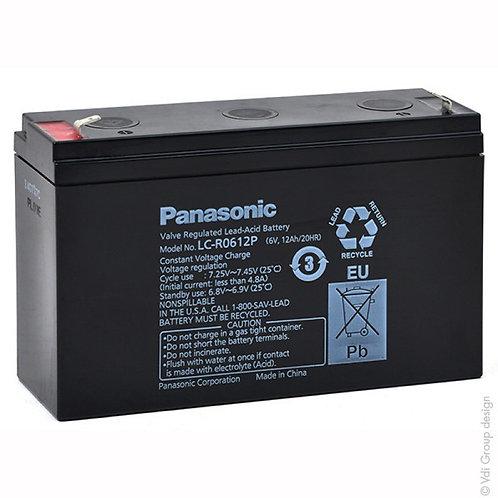 Blei-Akku Panasonic 6V 12Ah