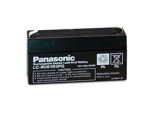 Blei-Akku Panasonic 6V 1,3Ah