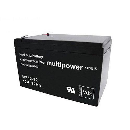 Blei-Akku XCell, Vision, Multipower 12V 12Ah