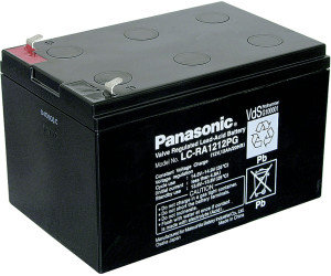 Blei-Akku Panasonic 12V 12Ah