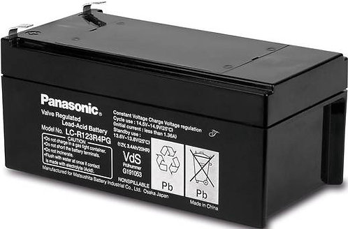 Blei-Akku Panasonic 12V 3,4Ah