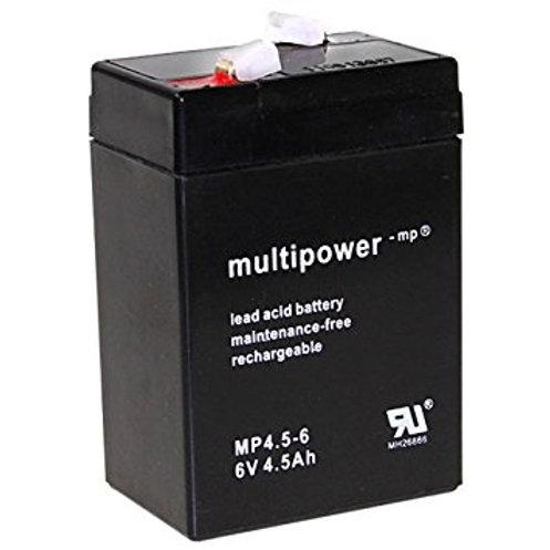 Blei-Akku XCell, Vision, Multipower 6V 5Ah