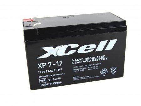 Blei-Akku XCell, Vision, Multipower 12V 7Ah