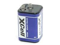X Cell Blockbatterie 4R25 6V 9,5Ah