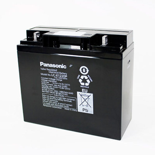 Blei-Akku Panasonic 12V 20Ah