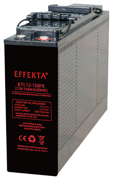 Blei-Akku Effekta BTL12-150FK