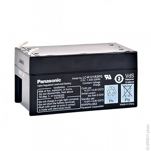 Blei-Akku Panasonic 12V 1,3Ah