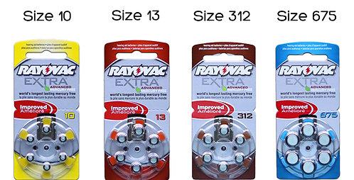 Hörgerätbatterie 312 / PR41 6er-Blister 1,4V 180mAh