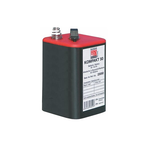 Blockbatterie Horizont 4LR25 6V 50Ah 80 Stück