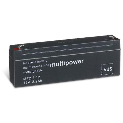 Blei-Akku XCell, Vision, Multipower 12V 2,1Ah