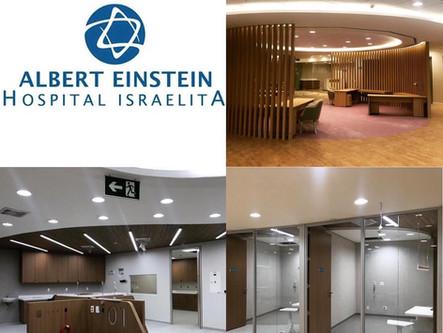"""Hospital Israelita Albert Einstein "" - Divisórias com Lã de Rocha e Forro de Drywall e Mineral"