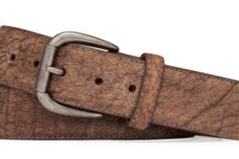 W.Kleinberg Navajo Bison with Roller Buckle