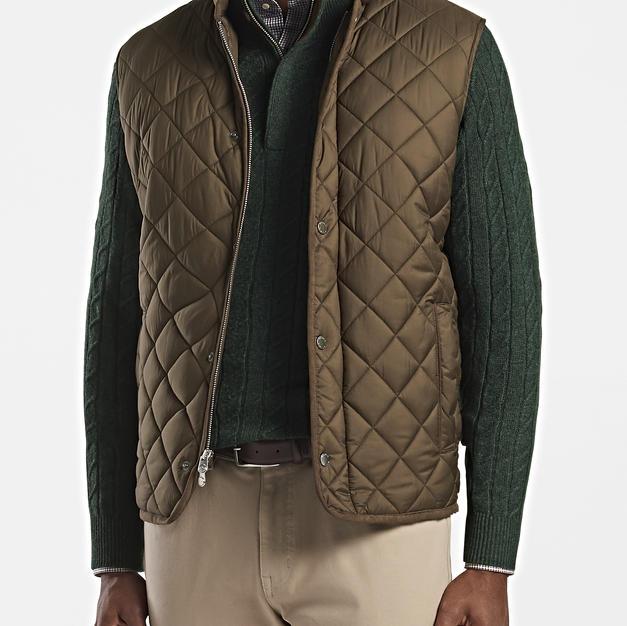 Essex Quilted Travel Vest