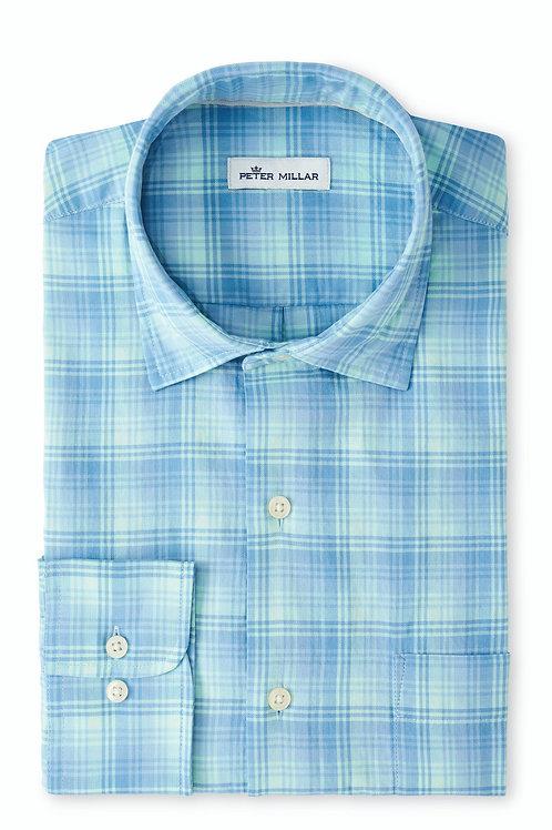Peter Millar Windsail Cotton Sport Shirt