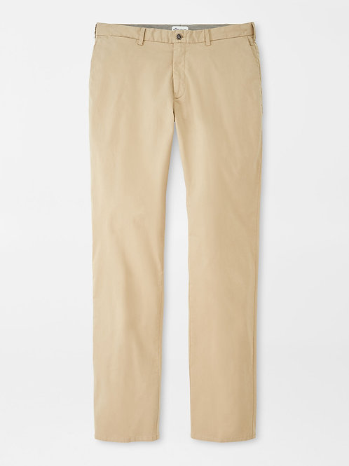 Peter Millar Crown Soft Flat-Front Trouser