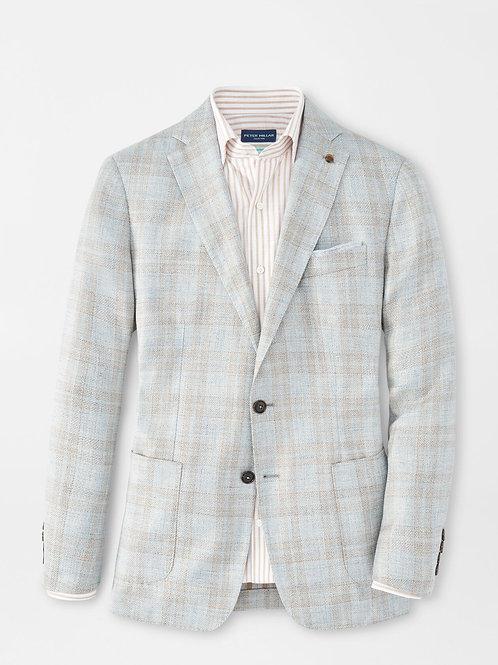 Peter Millar Cirrus Windowpane Soft Jacket