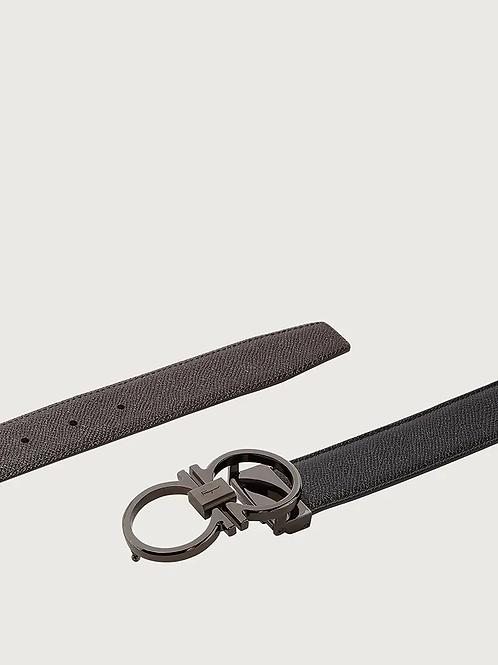 Ferragamo Reversible and Adjustable Gancini Belt