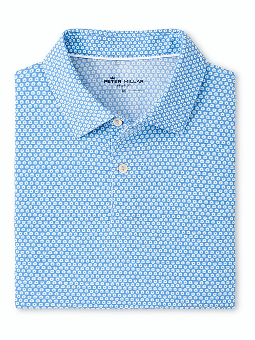 Peter Millar Dri Release Natural Touch Oyster Shell Polo
