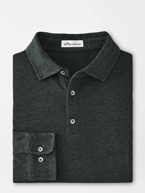 Peter Millar Crown Fleece Birdseye Polo