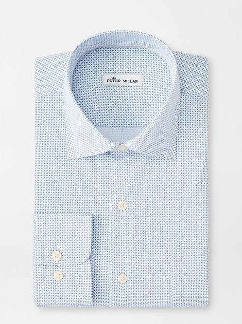 Peter Millar X's & O's Cotton Blend Sport Shirt