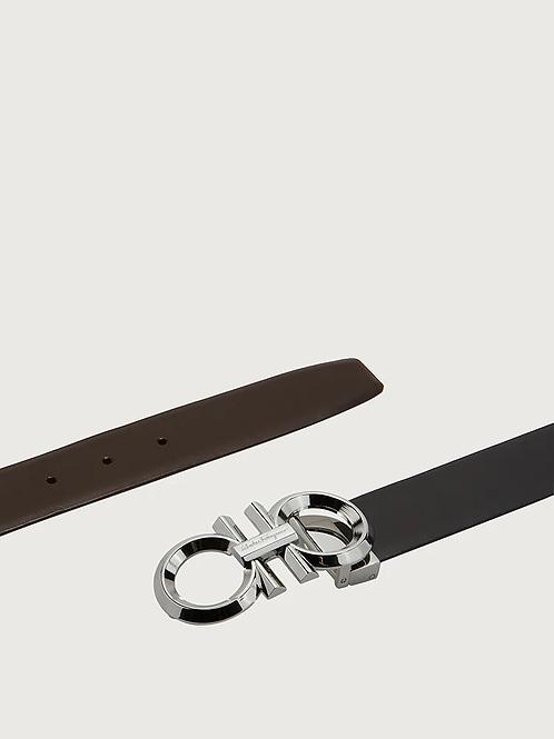Ferragamo Adjustable Gancini Belt