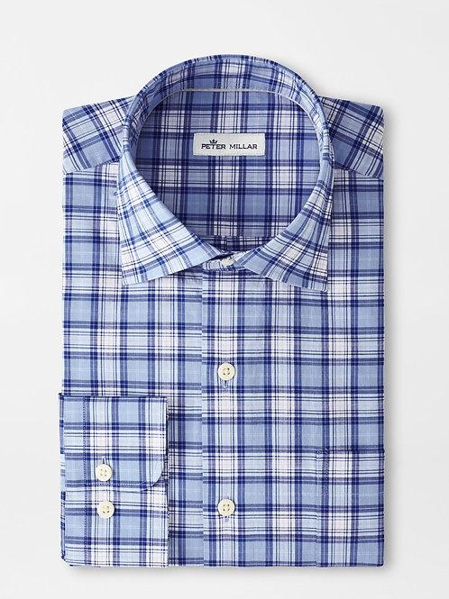 Peter Millar Reed Cotton Blend Sport Shirt