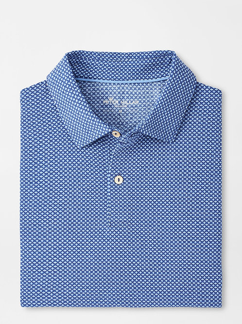 Peter Millar Dri Release Natural Touch Bouquet Polo
