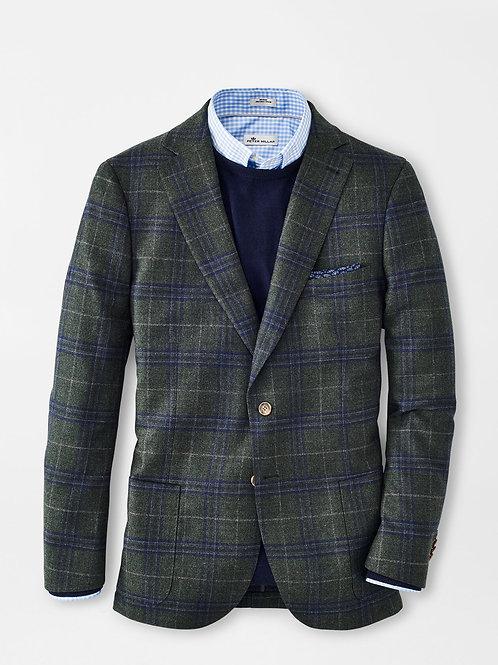 Peter Millar Wintertime Windowpane Soft Jacket