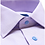 Thumbnail: David Donahue Lilac Mini Houndstooth Dress Shirt