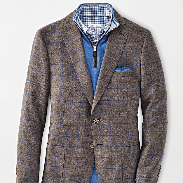 Peter Millar Windowpane Jacket