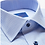 Thumbnail: David Donahue Blue Textured Mini Check Dress Shirt
