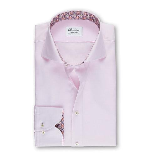 Stenstroms Light Pink Fitted Dress Shirt