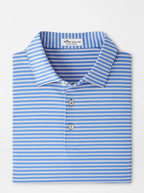 Peter Millar MIlls Stripe Jersey Polo