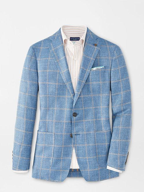 Peter Millar Marseille Windowpane Soft Jacket