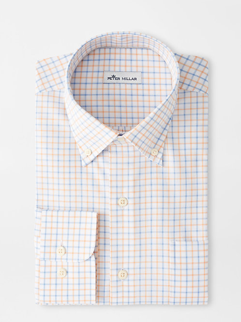 Peter Millar Royce Cotton Blend Sport Shirt