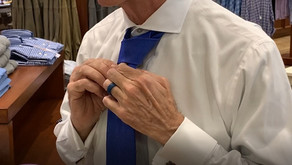 How to Tie A Half Windsor Tie With Rob Joyner